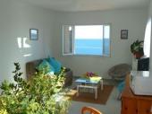 T2 très belle vue mer dans Villa, 200m de la plage de Lavasina, 2km d'Erbalunga