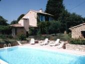 Vaucluse, Isle sur Sorgues, à 4km, Très belle maison de campagne en pierre du pays, piscine privée, pour 10pers.