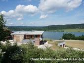Location vacances Malbuisson - chalet au bord du Lac de St Point
