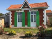 Villa traditionnelle de type soulacaise à Soulac sur mer en Aquitaine à proximité de l'océan