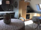 """Superbe duplex """"tout confort"""" au pied de Dinan, en Bretagne.Animaux acceptés"""