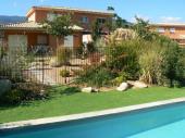 Maison, piscine et spa privés, à 5 minutes de la mer, 6 personnes, 3 chambres