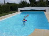 Gite Les Géraniums 3*  avec piscine à proximité des chateaux de la Loire