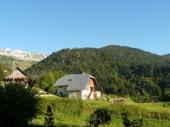 Gite Le BUCHET au coeur du Parc Naturel des Bauges entre les lacs d'ANNECY et d'Aix les Bains