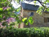 maison dans le village de Quezac au coeur des gorges du Tarn