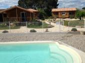 Location gîtes climatisés 46p ou 68p avec piscine à Ruoms en Ardèche Sud