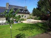 Belle longère bretonne à Meneham