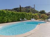 maison de vacances jardin et piscine privés sud ardeche vallon pt d'arc