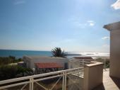 Cap d'Agde, face à la mer, grande villa avec accès privé direct à la plage