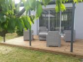 Maison meublée de 80m2  jardin 500m2 à Angers