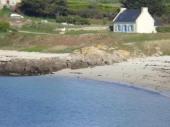 Agréable Maison de Pêcheur Île-de-Batz , plage à 20 mètres,  au calme .