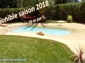 Jolie maison Charentaise rénovée,piscine,lit fait;