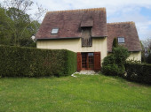 Maison type cottage normand dans une résidence privée à 1 km de la plage et du centre ville