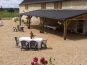Gîte de groupe et sa salle de réception au cœur des châteaux et des vignobles  de la Touraine