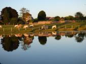 90 min de PARIS-OUEST, au calme, à la campagne, étang, piscine.