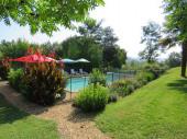 4 superbes gîtes location individuelle ou groupée avec piscine dans un environnement calme pour des vacances en Gascogne