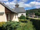 Le clos du Fau. Magnifique panorama sur les monts du Cantal