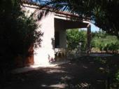 Maison individuelle, 6 person. sur terrain de 2.600 m2 au milieu des vignes