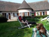 Maison de maître duplex avec jardin à 500m d'une base de loisirs.Et balades en v