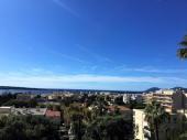 Cannes T3  standing vue mer 12 mn à pieds plage Croisette