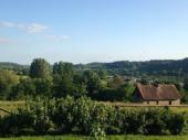 Deumeure de charme en pays d'Auge situé à Canapville ORNE  Au coeur de collines verdoyantes.