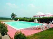 Arezzo - Ancienne et typique maison de campagne bien restaurée en accueillante maison de vacances ! Piscine privée de 6 x 12 m, terrasse; ping-pong, barbecue.