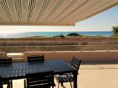 FACE A LA MER: villa 60m2 avec grande terrasse carrelée de 80m2.