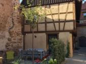 Magnifique corps de ferme XVIIIe grand standing, au cœur du vignoble d'Alsace.