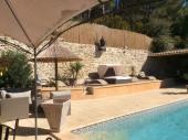 Villa individuelle de 110 m² tout confort avec piscine de 9 x4,50 sans vis à vis