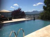 Le Mas des cinq fontaines, bâtisse d'exception avec piscine-jacuzzi-sauna-balnéo vue spectaculaire
