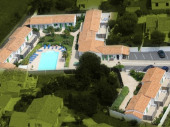 Maison tout confort  dans petite  résidence avec piscine chauffée dès avril.