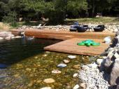 Bungalows en pleine nature et piscine naturelle