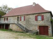 Proche Carennac: Maison en pierre au calme avec terrasse et jardin privatif