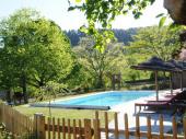 Les Grandes Vignes ( gites-pierre-bois) 1426 personnes avec piscine chauffée-11 chambres9 salles de bains. SUD ARDECHE