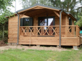 Chalet  ou Mobil home dans un Camping  3 étoiles Dossenheim-sur-zinsel