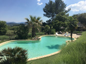 Villa de charme avec piscine chauffée en Provence (4 personnes)
