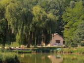 Gîte au pied du VERCORS avec étang pour la pêche
