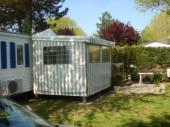 Loue Grand Mobil-home 3 chambres avec Lave Linge et climatisation