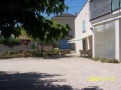 Maison de village.