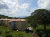 Situé dans une résidence calme et sécurisée, bel appartement F3, à 350m de la superbe plage d'Anse Mitan.