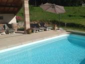 LE Poulailler de Joséphine gîte avec piscine chauffée et sauna