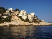 Deux pièces, vue panoramique, Cap de Nice, Mont Boron