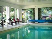 Villa, Maison 18 pers. avec piscine intérieure chauffee à 30° en bretagne sud