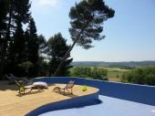 Le loft de Faustine: 90 m² dans parc de 4ha, spa, piscine...