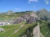 Magnifique vue sur la région du Mont-Blanc