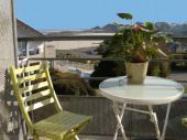 Appartement avec superbe vue sur mer et plage de Trestel à 9 km de Perros Guirec