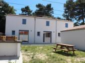 Maison mitoyenne 50 m²  avec jardin et 2 terrasses sur Le Grand-Village-Plage
