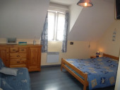 4 chambres  avec cuisine/WIFI entre Caen & mer