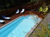 Gite la tisaniere avec piscine vue sur les montagnes