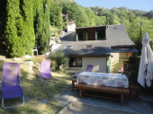 Chalet montagnard avec jardin individuel